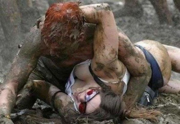 Фото девушек в грязи 9 фотография
